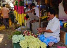 Plantaardige markt, India Royalty-vrije Stock Foto's
