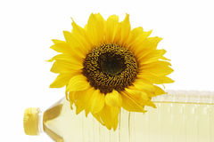 Plantaardige olie Royalty-vrije Stock Fotografie
