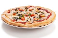 Plantaardige pizza Stock Foto
