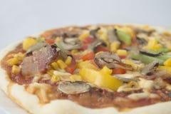 Plantaardige pizza Stock Foto's