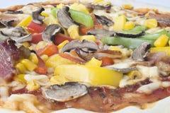 Plantaardige pizza Royalty-vrije Stock Afbeelding
