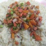 Plantaardige rijst royalty-vrije stock afbeelding