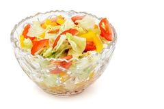 Plantaardige salade. Royalty-vrije Stock Foto's