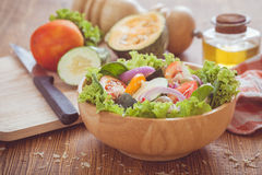 Plantaardige salade Royalty-vrije Stock Fotografie