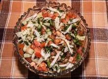 Plantaardige salade Verse product-groenten vegetables Royalty-vrije Stock Fotografie