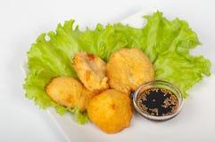 Plantaardige tempura Stock Fotografie