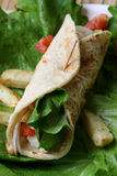 Plantaardige tortilla's Royalty-vrije Stock Afbeeldingen