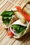 Plantaardige tortilla's Stock Fotografie
