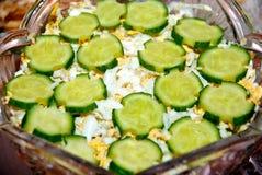 Plantaardige verse salade Royalty-vrije Stock Foto