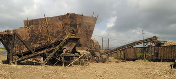 Plantación del azúcar en Cuba imagen de archivo