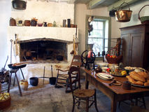 Plantage-Küche Lizenzfreies Stockfoto