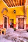 Plantage Ventilla, San Luis Potosi royaltyfri bild