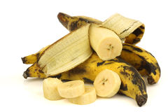 Plantain (baking) bananas Royalty Free Stock Image