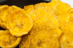 Plantain cups and patacones Royalty Free Stock Image