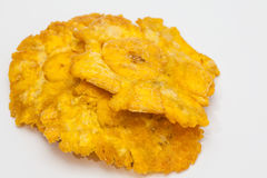 Plantain patacones isolated Stock Images