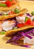 Plantain Taco shell Stock Photo