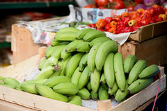 Plantains Royalty Free Stock Photography
