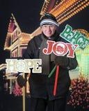 Plantando sinais da jarda do Natal Imagens de Stock