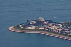 Planétarium Chicago d'Adler Photos stock
