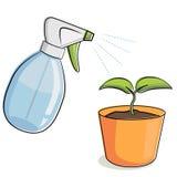 Plantas crecientes libre illustration
