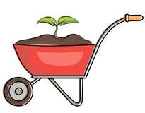 Plantas crecientes stock de ilustración