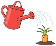 Plantas crecientes ilustración del vector