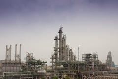 Plantas de refinarias do gás fotos de stock