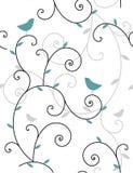 Plantas e pássaros Imagem de Stock