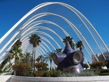 Plantas en el Umbracle en Valencia fotografía de archivo libre de regalías