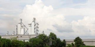 Plantas industriales Foto de archivo libre de regalías