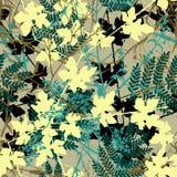 Plantas sem emenda ilustração royalty free