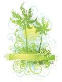 Plantas y árboles abstractos Foto de archivo