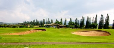 Plantation Course at Kapalua Royalty Free Stock Images