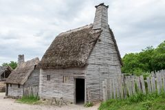 Plantation de Plimoth, mA, Etats-Unis photos libres de droits