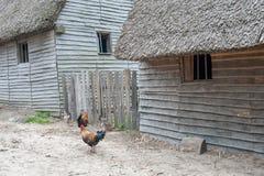 Plantation de Plimoth, mA, Etats-Unis images libres de droits