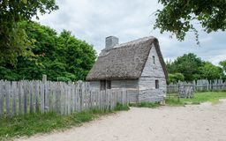 Plantation de Plimoth, mA, Etats-Unis images stock