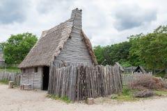 Plantation de Plimoth, mA, Etats-Unis image stock
