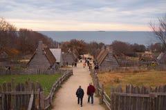 Plantation de Plymouth en novembre Photographie stock