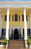 Plantation entrance and porch Royalty Free Stock Photos