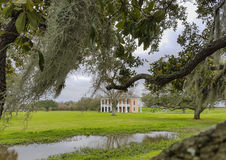 Plantation house in Louisiana Stock Photos