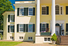 Plantation mansion and porch Royalty Free Stock Photo