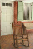 Plantation Porch stock image