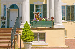 Plantation Porch And Steps Stock Image