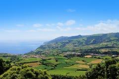 Plantation in Porto Formoso on the north coast of the island of Stock Photo