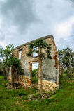 Plantation in ruins Stock Image
