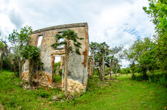 Plantation in ruins Royalty Free Stock Photo
