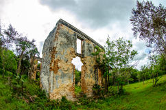 Plantation in ruins Royalty Free Stock Image