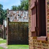 Plantation Slave Quarters Charleston stock photography