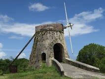 Plantation Sugar Mill Windmill Stock Image