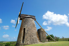 Plantation windmill Royalty Free Stock Photo
